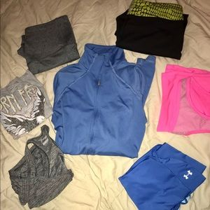 Workout bundle 7 pcs, size small